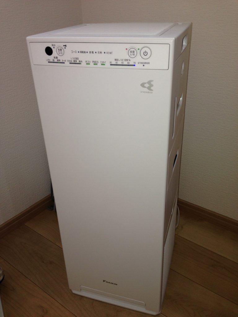 ダイキン 加湿空気清浄機  MCK55U-W ホワイト