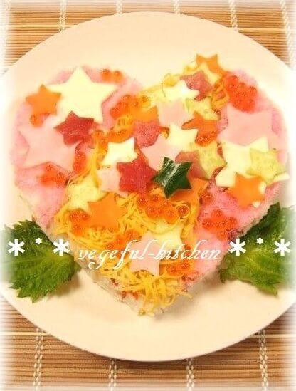 七夕ちらし寿司レシピ①
