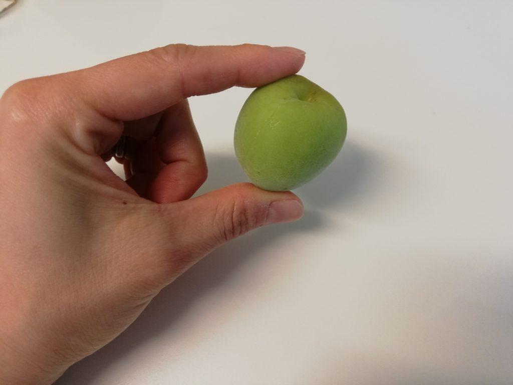 オイシックスの梅仕事-梅一粒が大きい