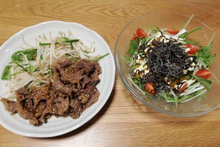 ヨシケイ1週間お試し-4日目牛焼き肉