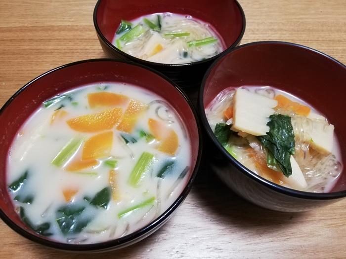 ヨシケイ1週間お試し-2日目春雨スープ