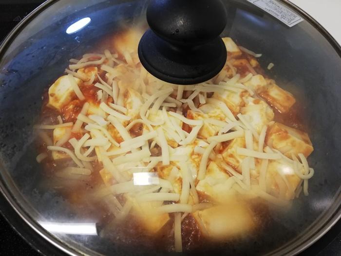 お豆腐で作るミートソースグラタン⑨