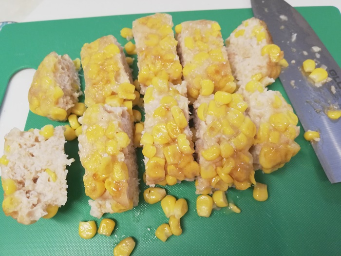 【キットオイシックス】焼きもろこし風ボリューミー鶏つくね12
