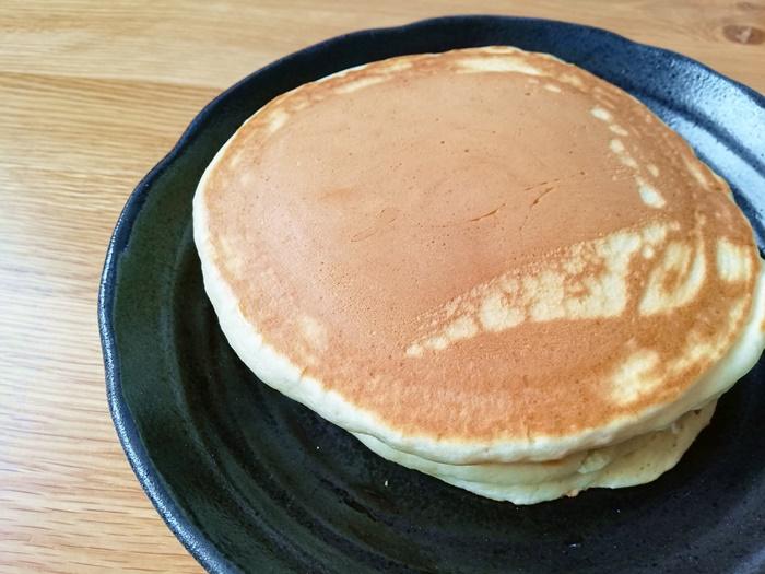 【オイシックスの北海道産ホットケーキミックは良すぎ】ストックすべき!朝食・おやつに便利
