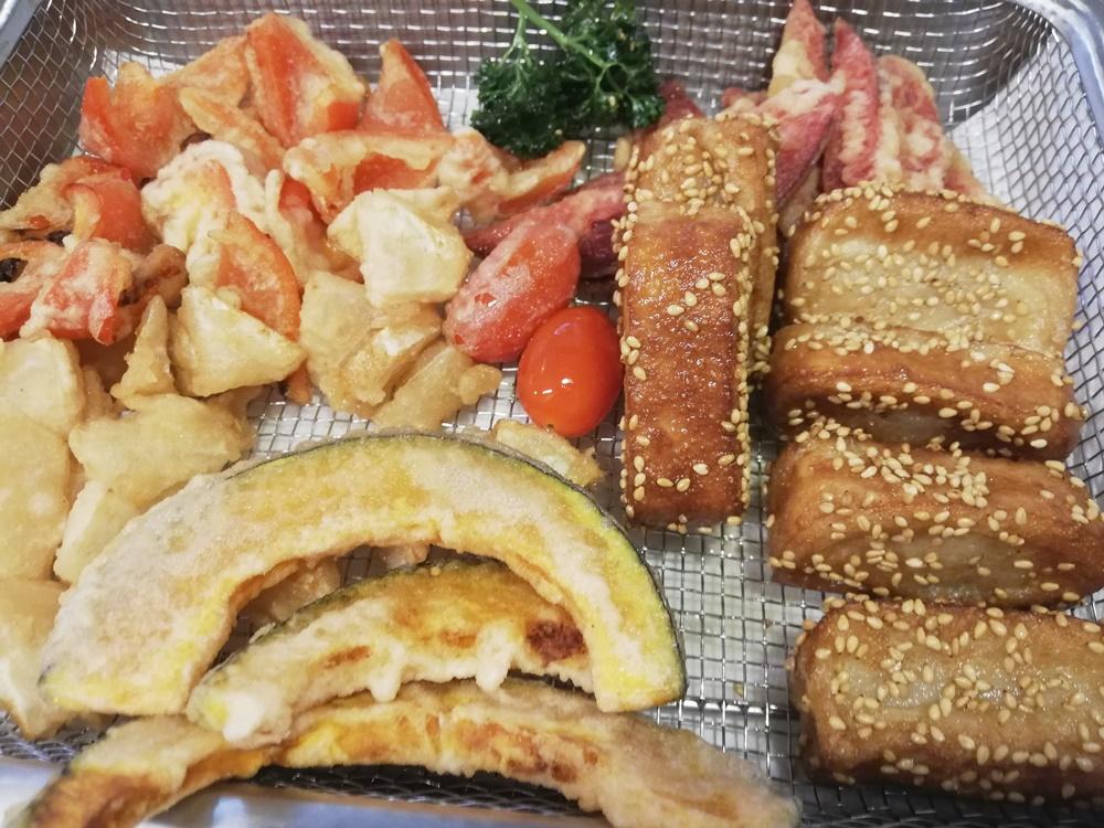ヴィーガンキットオイシックス生麩の揚げ焼き天丼12