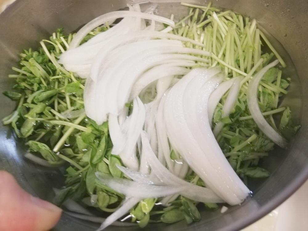 キットオイシックス豆苗のチョレギサラダ7
