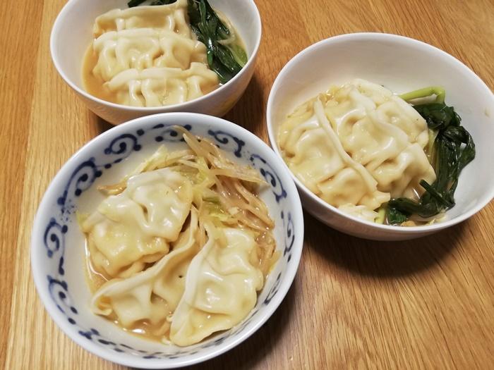 鍋キットコース_ジューシー餃子の濃厚みそ鍋5
