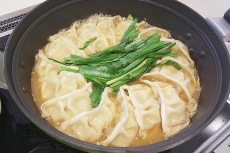 鍋キットコース_ジューシー餃子の濃厚みそ鍋4