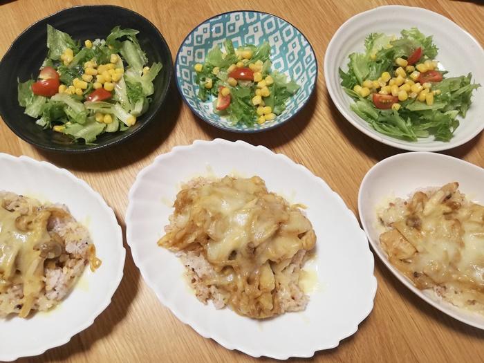 【キットオイシックスおすすめコラボ】コウさんのポークカレーチーズドリアは子供も食べやすい